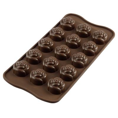 Silikomart Chocoladevorm Rozen