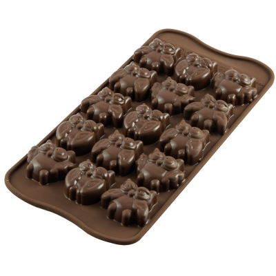 Silikomart Bonbonvorm Uilen