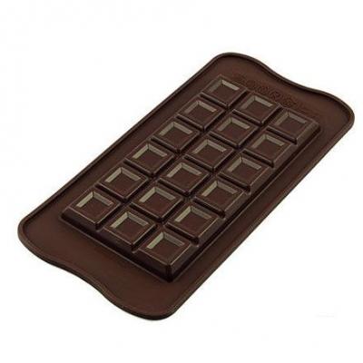 Silikomart Chocoladevorm Tabletten Reep