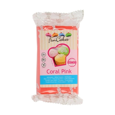 Rolfondant Coral Pink - tht aanbieding