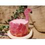 Bakpakket Flamingotaart
