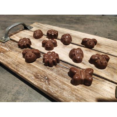 Bakpakket Bonbons met caramel/hazelnoot vulling