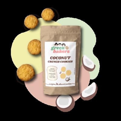 Coconut Crunch Cookies Vegan