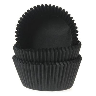 Cupcake cups Black pk/50