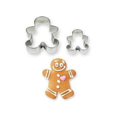 PME Koekjes uitsteker Gingerbread poppetje set/2