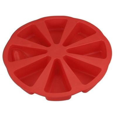 Siliconen Bakvorm Pizzacake 8-punts 28cm