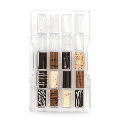 Decora Chocoladevorm Fantasie Cilinders 20 vormen